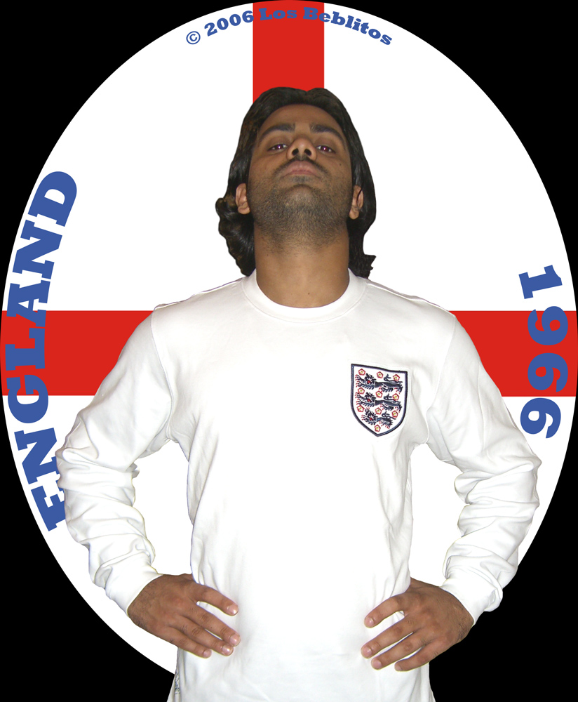 England Home Kit 1966