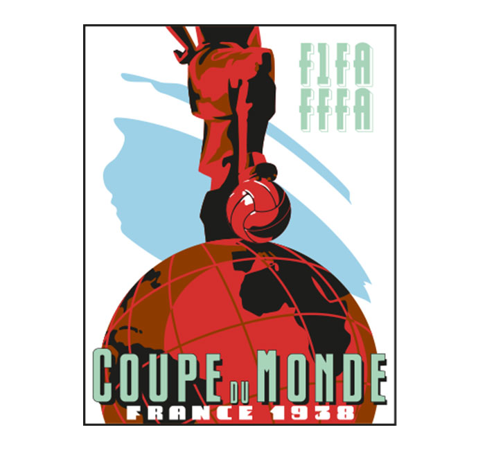 World Cup 1938 Logo