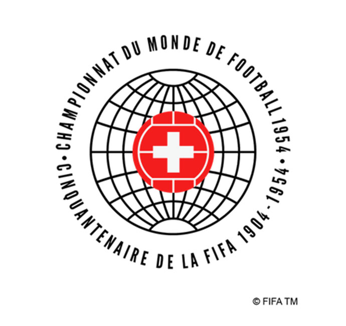 World Cup 1954 Logo